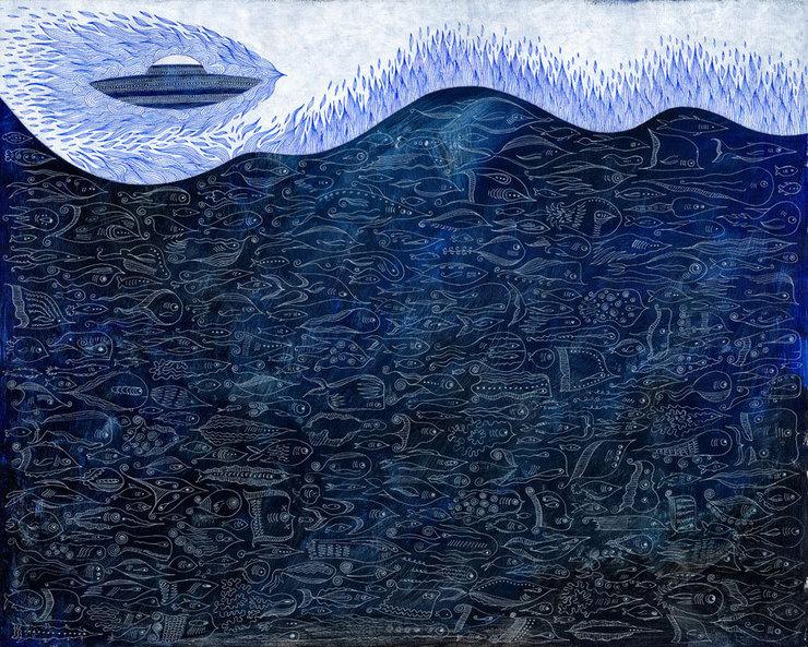 Interesting Contemporary Art:Frost -  Scott Bakal
