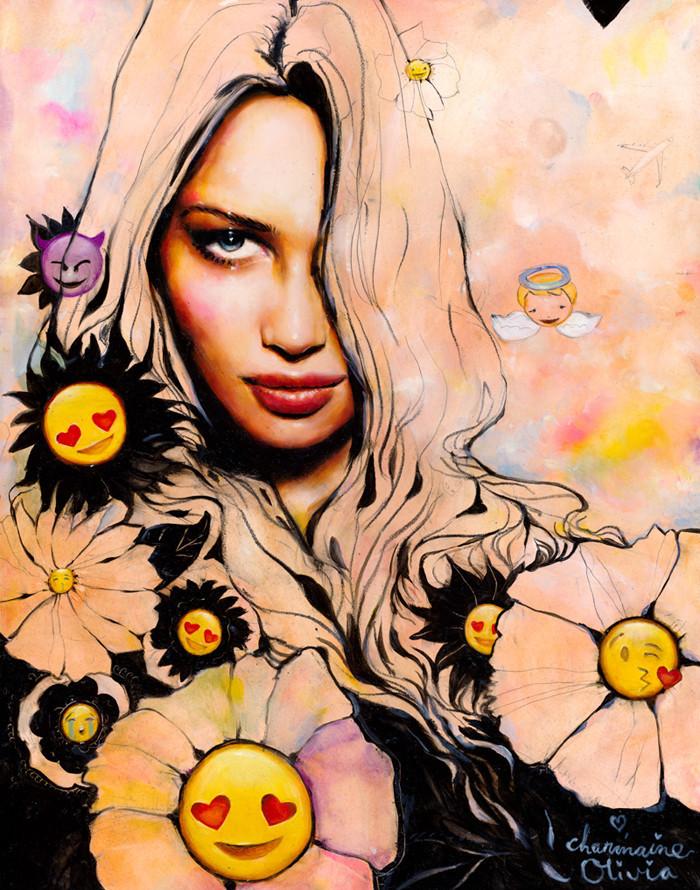 "Charmaine Olivia - ""Emoji Flowers"""