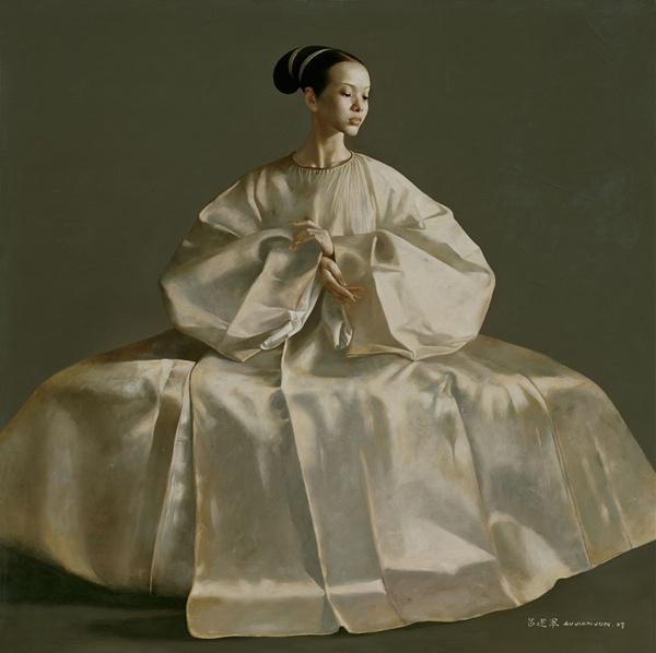 Untitled painting by Lu JianJun