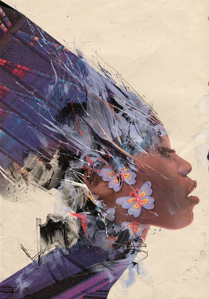 """Solar Plexus"" Illustration by Russ Mills"
