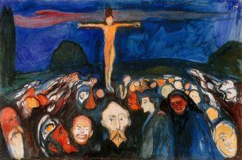 Golgotha (1900) Edvard Munch