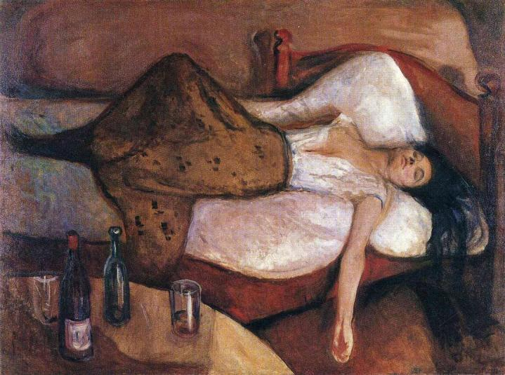 The Day After (1895) Edvard Munch